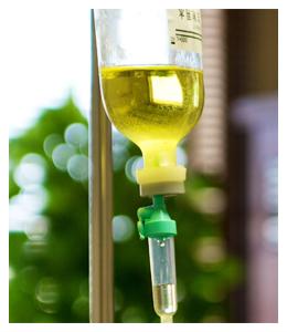 高濃度ビタミンC点滴療法 点滴イメージ
